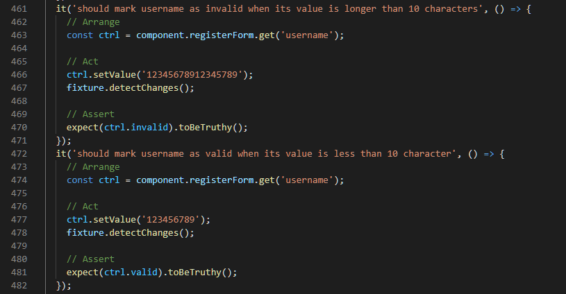 Username maxLength Validation Tests