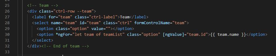 Team HTML