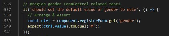 Radio Button Default Value Test