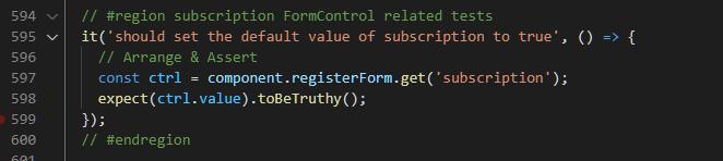 Checkbox Default Value Test